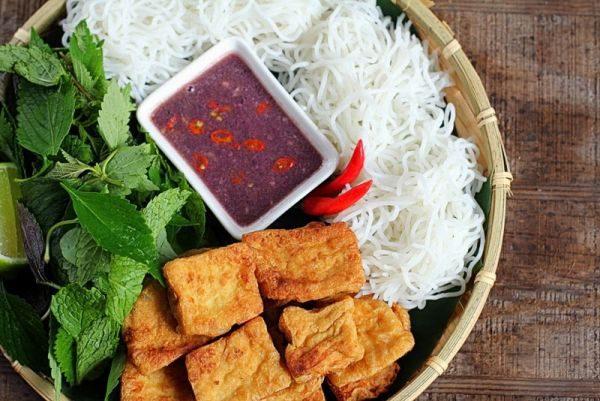 Vietnamese bun dau mam tom recipe 1