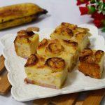 Vietnamese banh chuoi nuong recipe – How to make baked banana cake