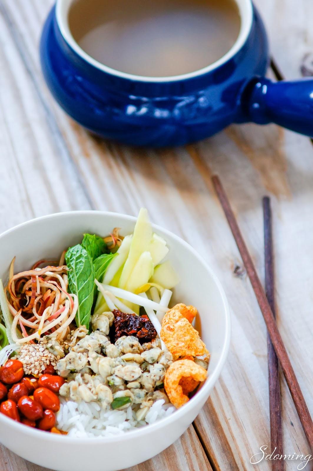 Vietnamese-com-hen-recipe8