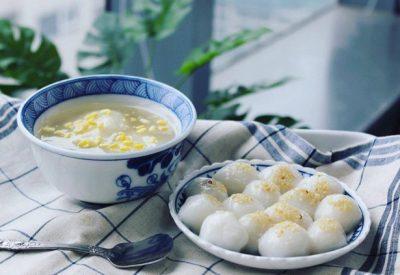 Vietnamese glutinous rice ball recipe - How to make banh troi nuoc recipe
