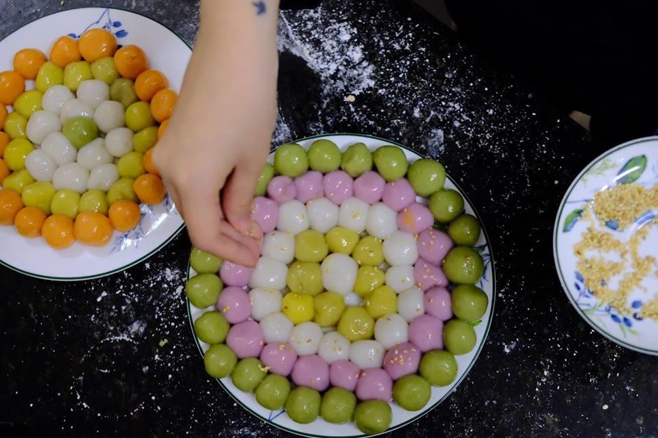 Vietnamese-glutinous-rice-ball-recipe-How-to-make-banh-troi-nuoc-recipe-9