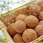 Banh Cam recipe – Vietnamese fried sesame ball with mung bean paste