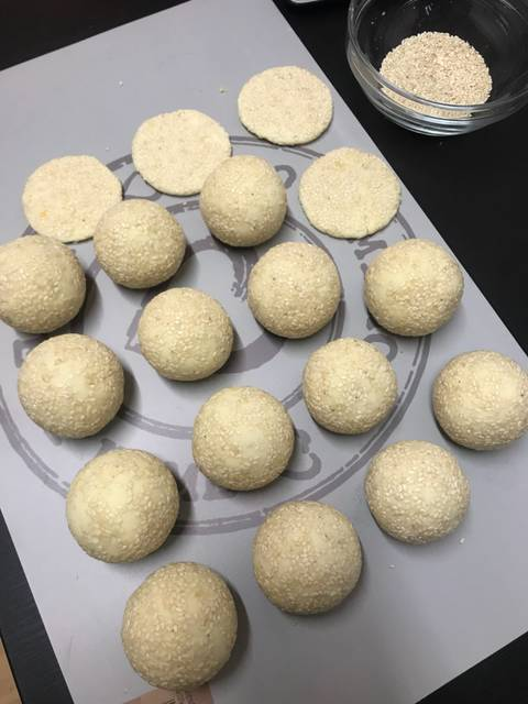 Banh-Cam-recipe–Vietnamese-fried-sesame-ball-with-mung-bean-paste 13