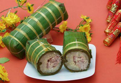 Banh Tet Recipe – Vietnamese Cylindrical glutinous rice cake