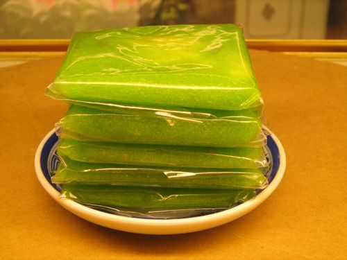 Banh-com-recipe-Vietnamese-Green-rice-flake-cake 11