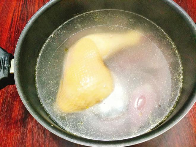 Chao-ga-Recipe–Vietnamese-chicken-congee-rice-porridge 2