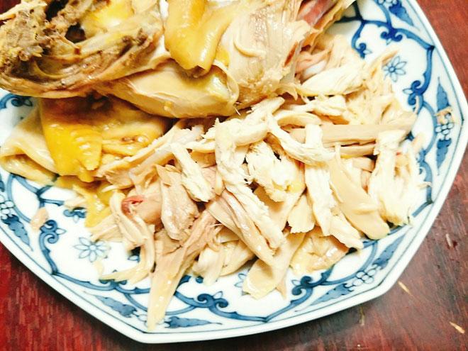 Chao-ga-Recipe–Vietnamese-chicken-congee-rice-porridge 5