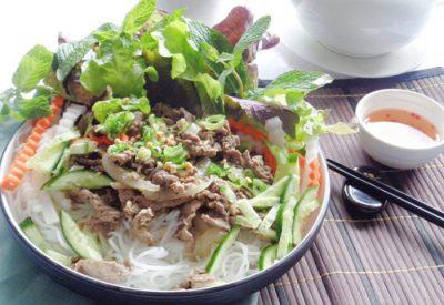 Bun bo nam bo recipe – How to make Vietnamese beef and noodle Salad