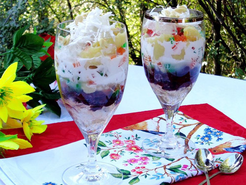 Che-ba-mau-recipe-Vietnamese-three-color-dessert 7