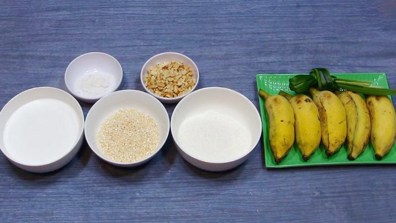 Che-chuoi-recipe-Vietnamese-banana-with-coconut-milk-and-tapioca-pearls-dessert 2