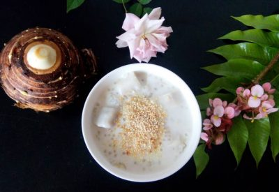 Che khoai mon Recipe - Vietnamese taro sweet soup