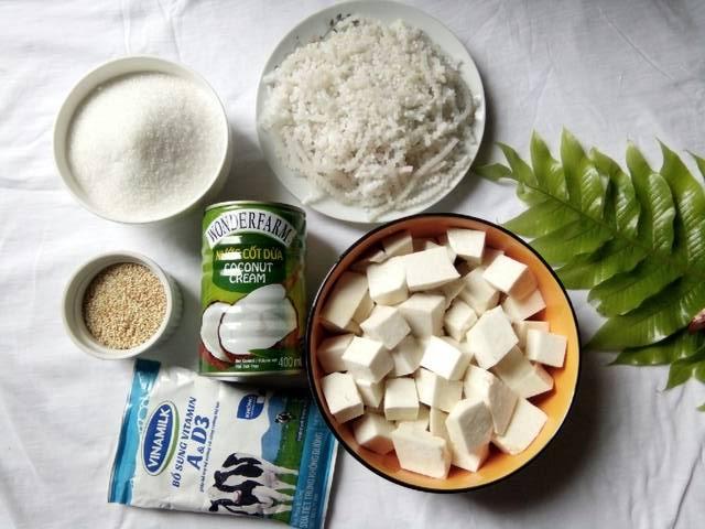 Che-khoai-mon-Recipe-Vietnamese-taro-sweet-soup 2