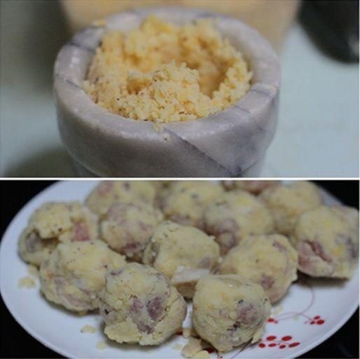Xoi-Banh-Khuc-Recipe–Cudweed-Sticky-Rice 4