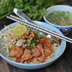 Mi kho recipe – Vietnamese dry noodles with char siu meat