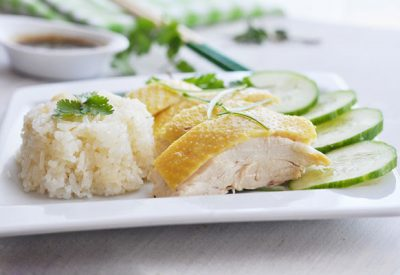Com ga Hai Nam recipe – How to make Hainanese Chicken rice