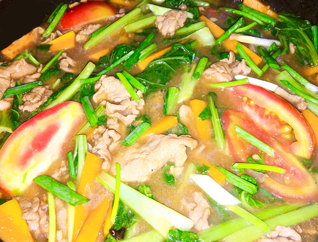Pho-Ap-Chao-Recipe–Vietnamese-Pho-Sauteed-with-beef 9