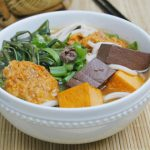 Canh bun recipe – How to cook Vietnamese Rice Noodle Soup