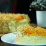 Banh bong lan trung muoi – Vietnamese Salted egg sponge cake Recipe