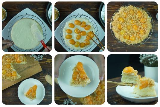 Banh-bong-lan-trung-muoi-Vietnamese-Salted-egg-sponge-cake-Recipe 12