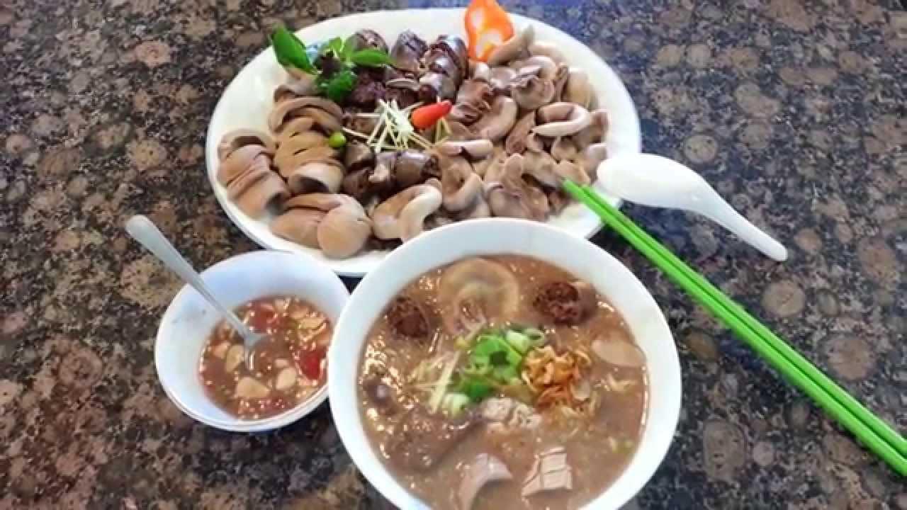 Original Chao Long Recipe Vietnamese Pork Organ Porridge
