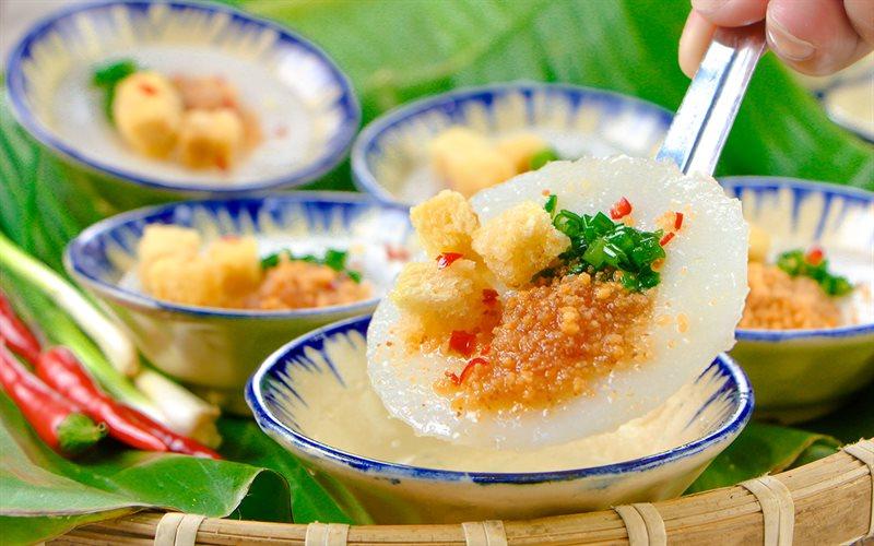 Vietnamese banh beo recipe - Steamed Rice Flour Cakes - YummY Vietnam