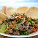 Bo tai chanh Recipe – Rare beef in lime juice salad