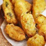 Banh cay recipe – Vietnamese Crispy fried cassava fritter