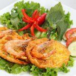 [**Authentic**] Vietnamese banh tom recipe – Sweet potato shrimp fritters