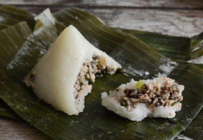 Banh gio recipe – Vietnamese rice and pork pyramid dumplings