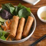 Bun Cha Gio Recipe – Vietnamese vermicelli noodles with fried spring rolls