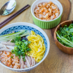 Vietnamese Bun Thang Recipe – Vermicelli noodles soup with pork, chicken, egg